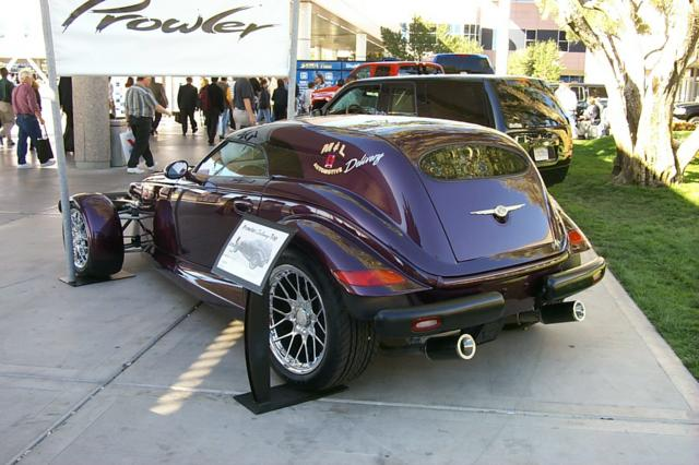 prowler car  delivery hardtop
